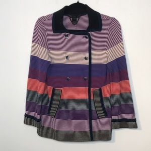 Marc Jacobs cotton double breasted stripes blazer